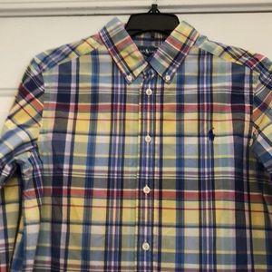 Boys shirt L 14-16 100%cotton